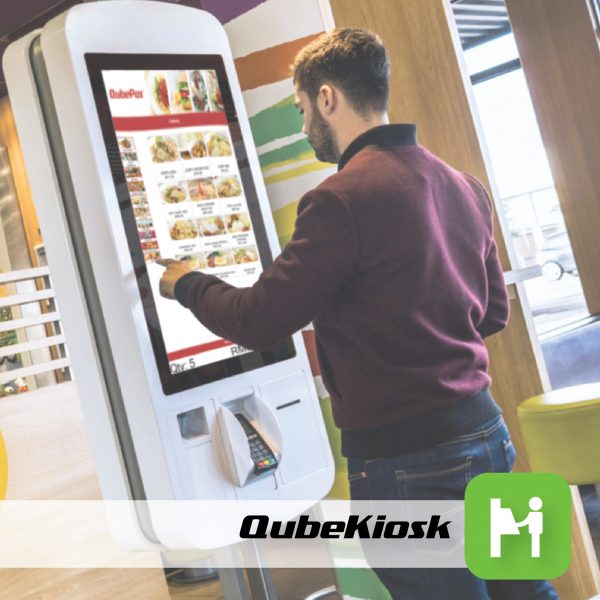 QubeKiosk - F&B Self-Ordering Kiosk 1