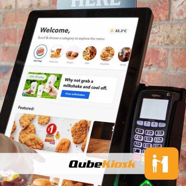 Restuarant Self Ordering kiosk; Software Solutions
